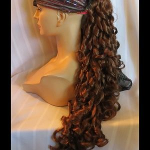 Accessories - NEW High Quality XTRA LONG Curly Clip On Pony Tail