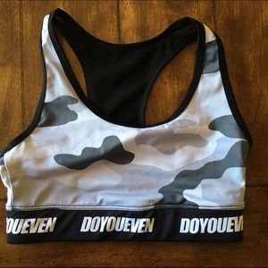 Other - Do You Even Camo Sports Bra
