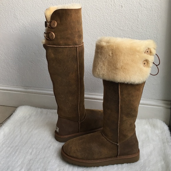 72606cf7750 New UGG Bailey Button Over the Knee Boots size 9