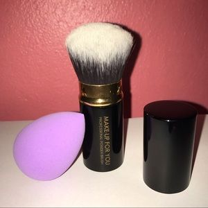 Other - Make-Up For You Brush & Makeup Blender