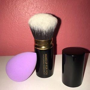 Other - Make-Up For You Brush & Makeup Blender