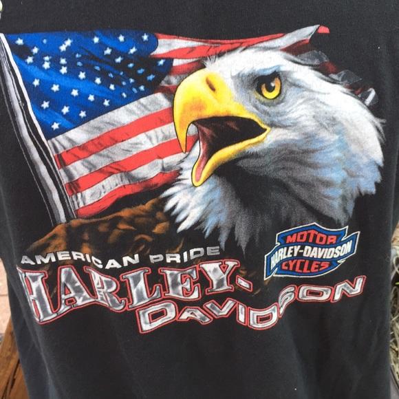 shirts harley davidson american pride eagle t shirt xl - American Pride T Shirt