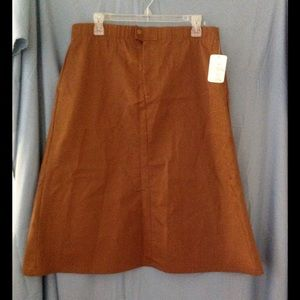 Cute vintage 70s Levi's brown skirt