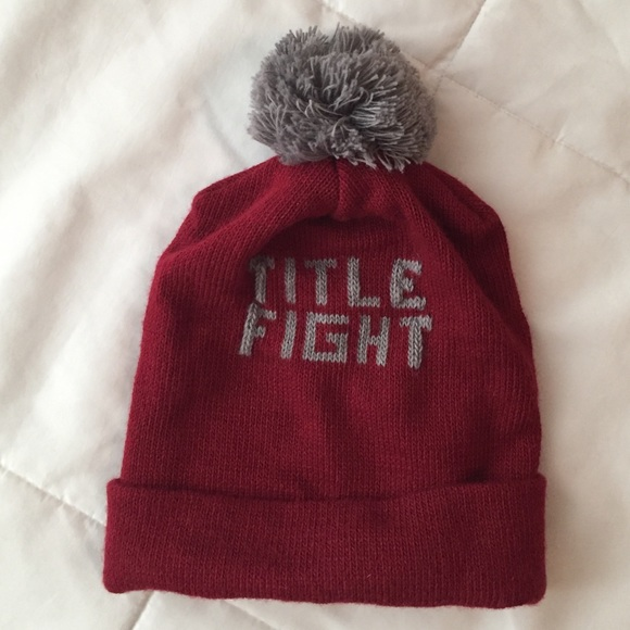 Accessories - Title Fight Beanie 959c28c715d