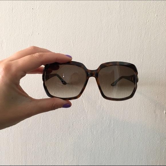5cbdeb0128 Gucci Accessories - Gucci tortoise shell Sunglasses (Large Frame)