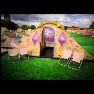 TOMORROWLAND Other - EDM gear Tomorrowland Tomorrowworld easy camptent