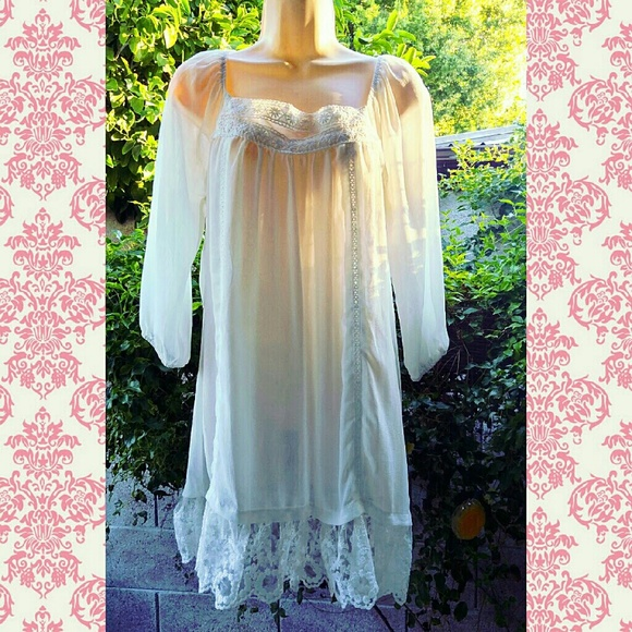 off Forever 21 Dresses & Skirts White Baby Doll