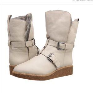 Rebecca Minkoff Shoes - Rebecca Minkoff Perry rabbit fur lined boots NWOT