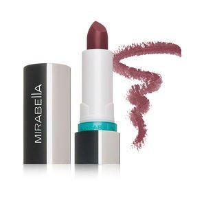 Mirabella Beauty Makeup - Mirabella Beauty Vinyl Lipstick- Scarlet Sparkle