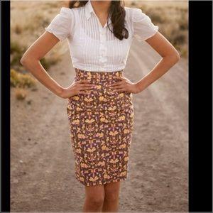 Shabby Apple Dresses & Skirts - 🚨FINAL PRICE Shabby apple honey suckle midi skirt