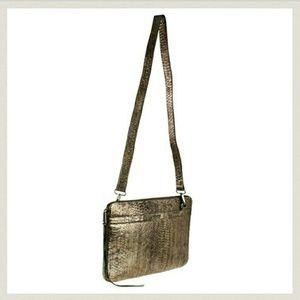 Rebecca Minkoff Handbags - Rebecca Minkoff Mac Laptop in Metallic