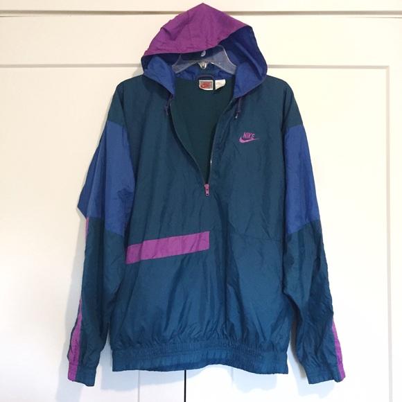 6002e33de835 Sale! Rare Vintage Nike Thick Windbreaker Jacket. M 5806f422f739bcf6c3016cab