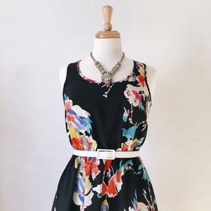 Xhilaration Dresses & Skirts - Floral High Low Dress