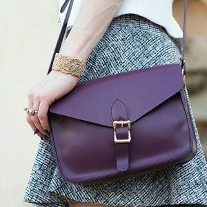 Angela Roi Handbags - Purple Crossbody Bag