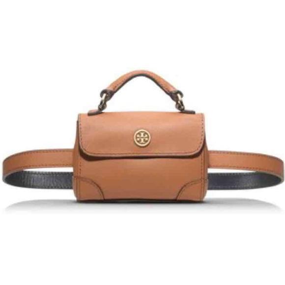 bd537caee9b4 NWT TORY BURCH Leather Fanny Pack Belt
