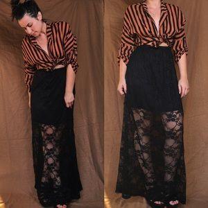 gypsy warrior Dresses & Skirts - BRAND NEW. Lace Maxi skirt. Gypsy Warrior.