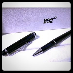 Montblanc Other - Montblanc Meisterstuck 163 Platinum Trim Pen