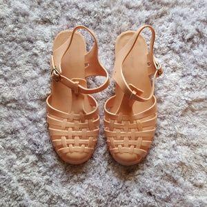 a'gaci Shoes - BLUSH PINK SANDALS📣 (READ DESCRIPTION)