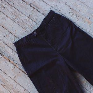 ✨Vintage✨ High Rise Black Denim Trousers