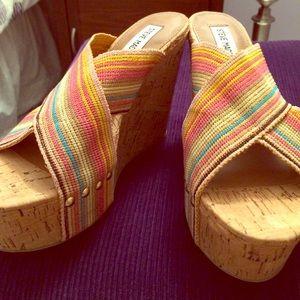 Steve Madden Pride Platform Wedge Sandal