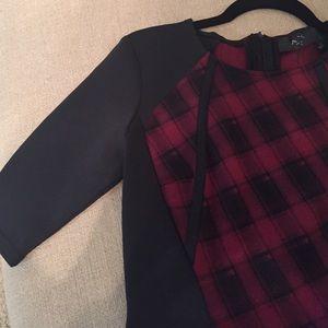 AX Paris Dresses & Skirts - Midi red & black dress!!!🌹