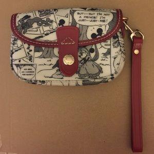 Limited edition Disney Dooney & Bourke clutch.