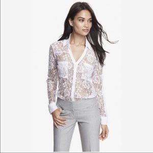 Express Lace Portofino Shirt