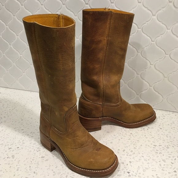 Frye Suede Mid-Calf Boots quality free shipping outlet cheap sale limited edition discount release dates 6eFRz