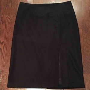 Banana Republic Factory Store Dresses & Skirts - Banana Republic Wool-Blend Slit Skirt
