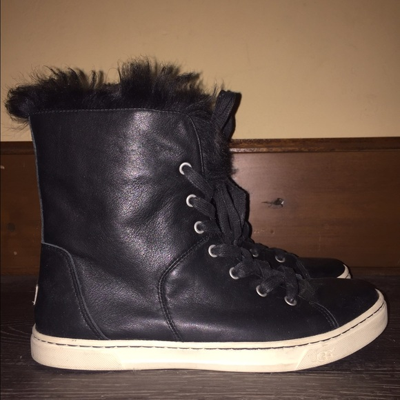 Furry Ugg Sneaker Boots   Poshmark