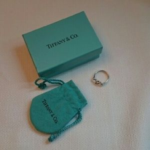 Tiffany and Co. Heart Ring