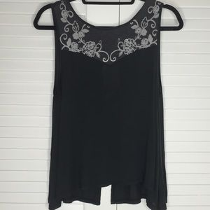 Urban Outfitters Tops - NWT Kimichi Blue Tank With Partial Split Back