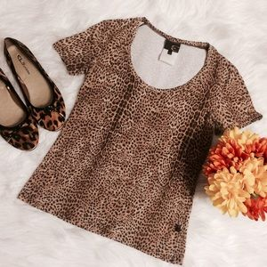 Just Cavalli Tops - Just Cavalli Leopard Top