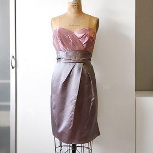 Alvina Valenta Dresses & Skirts - Alvina Valenta #9982 Satin Iridescent Dress