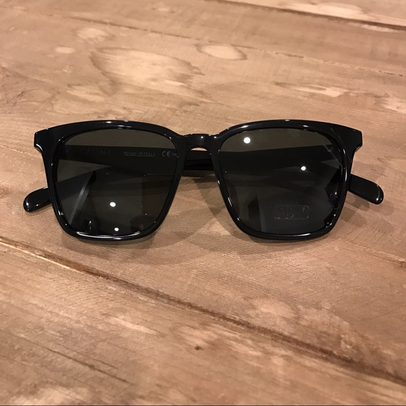 8fd8ec211714 Celine Accessories - Celine Thin Squared CL 41065 S Black Sunglasses