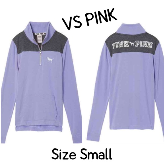 PINK Victoria's Secret - NWT VS PINK QUARTER ZIP PULLOVER from ...