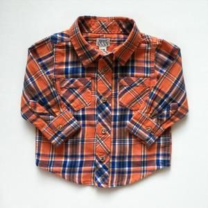 Old Navy Other - plaid button down flannel shirt