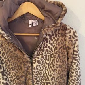 Other - 🆕 STELLA STAR Leopard Fur Hoodie Jacket