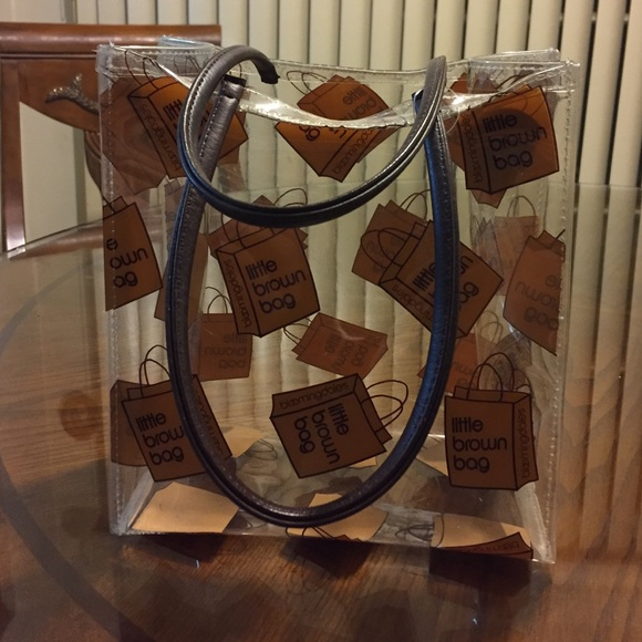 9b85cf59ec Bloomingdale's Bags | Bloomingdales Little Brown Bag | Poshmark