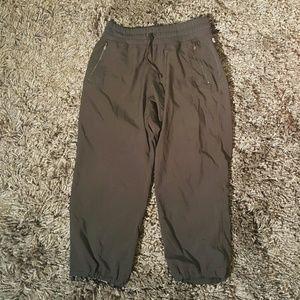 Fabletics Pants - Fabletics Black Calama Crop Jogging Pants