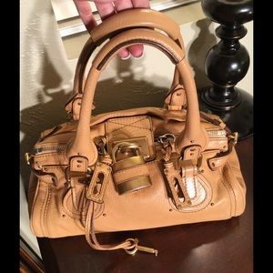 Chloe'  Paddington Tan Satchel