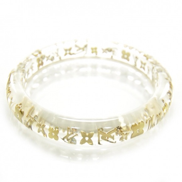louis vuitton jewelry. louis vuitton jewelry - clear inclusion bracelet