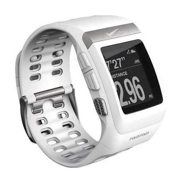 55 off nike accessories nike sportwatch gps powered by tomtom white from sky 39 s closet on. Black Bedroom Furniture Sets. Home Design Ideas