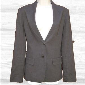 Jigsaw London Jackets & Blazers - Jigsaw London Linen Blend 2-button Blazer EUC