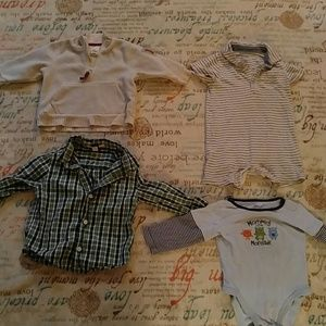 68% off Baby Gap Other - NWT- Boy Baby Bundle Gap Outfit ...