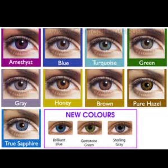 makeup 2 pairfreshlook color contacts choose colors poshmark