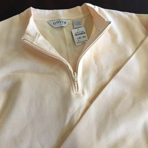 Orvis Other - Sale!🎉 NWT Orvis men's yellow sweater