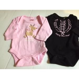 Dresses - Newborn holidays snap tees