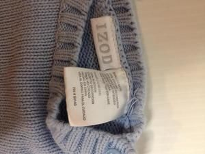 Izod Shirts & Tops - Baby snowflake ski sweater argyle diamond Izod 12m