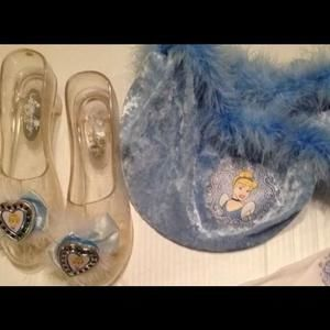 Cinderella light up shoes purse